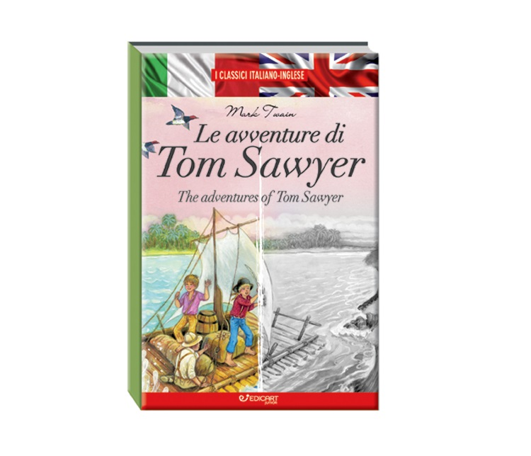 CLASSICI ITALIANO INGLESE TOM SAWYER