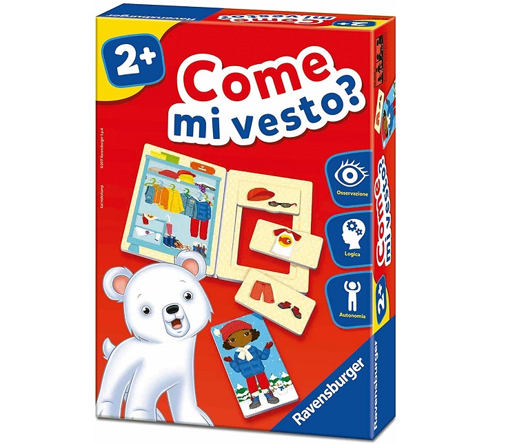 RAVENSBURGER COME MI VESTO?